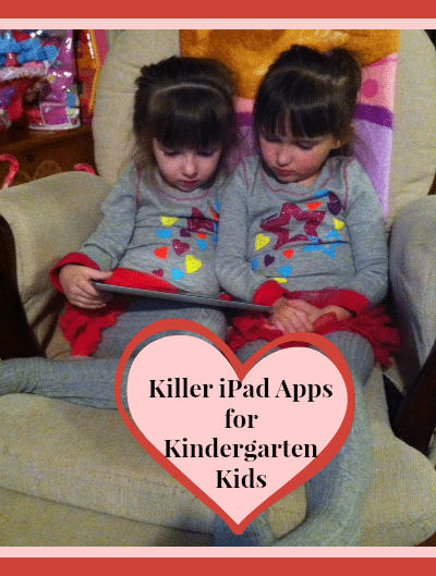 Killer iPad Kindergarten Apps for Kids
