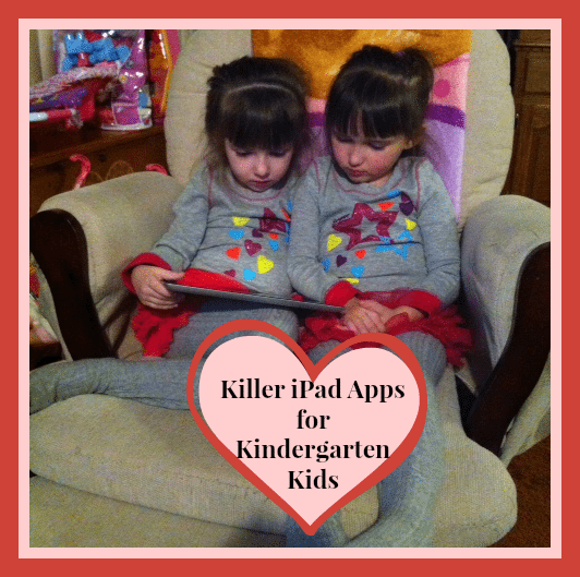 Killer iPad Apps for Kindergarten Kids