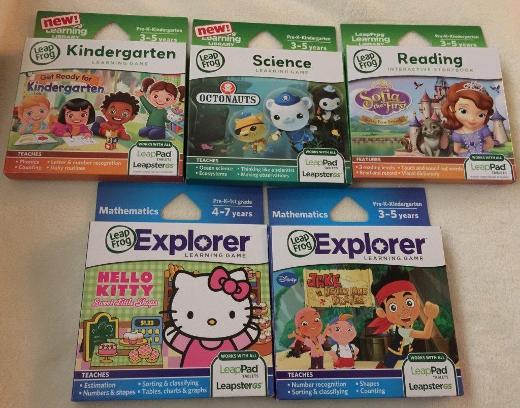LeapPad 3 Games