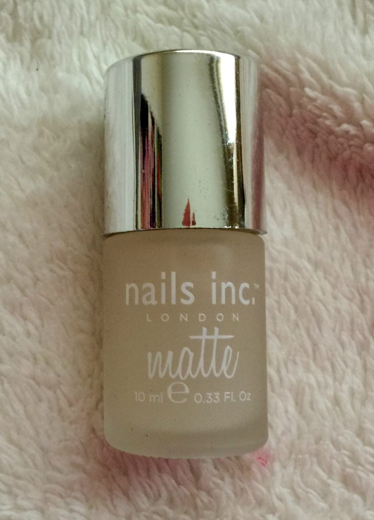 Nails Inc - Westminster Bridge Matte Top Coat