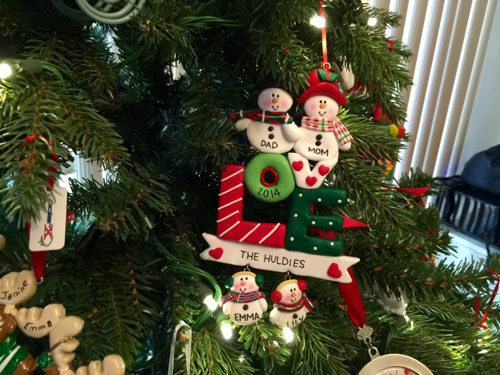 2014 Family Ornament from Ornaments of Love