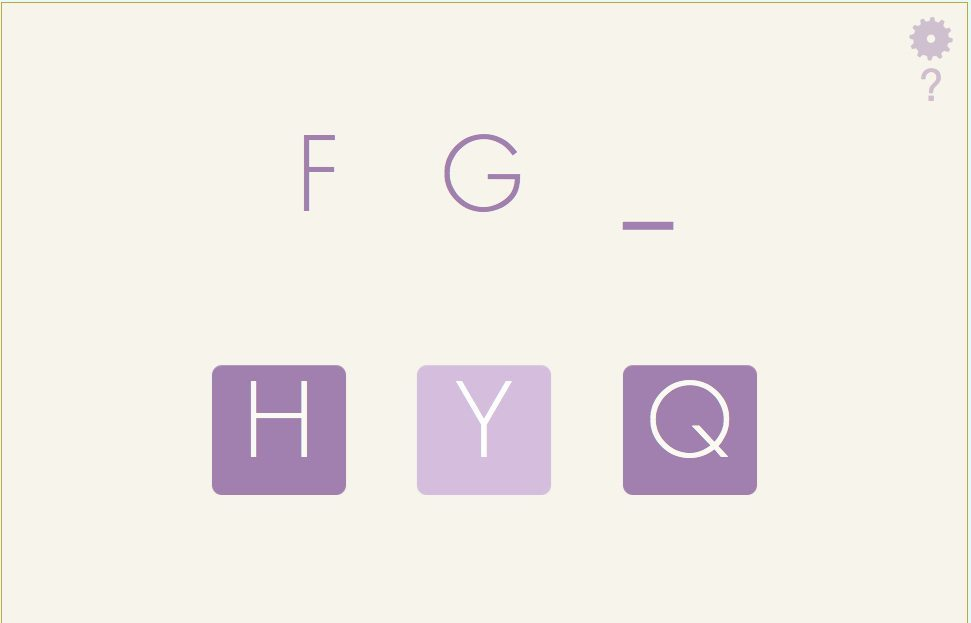 Letter Sequencing for the Alphabet