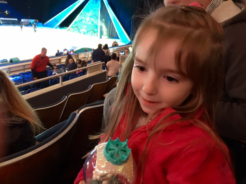 Lily with her Elsa Wand