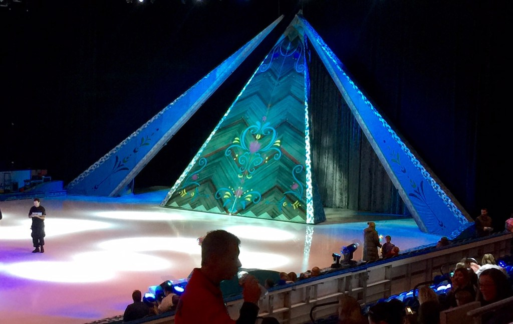 Waiting for Frozen on Ice to Start