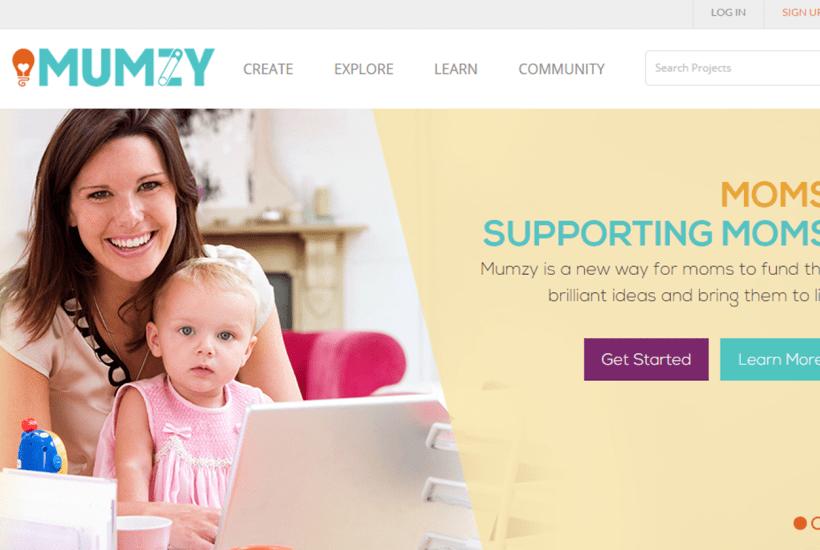 MUMZY Supporting Mom Entrepreneur