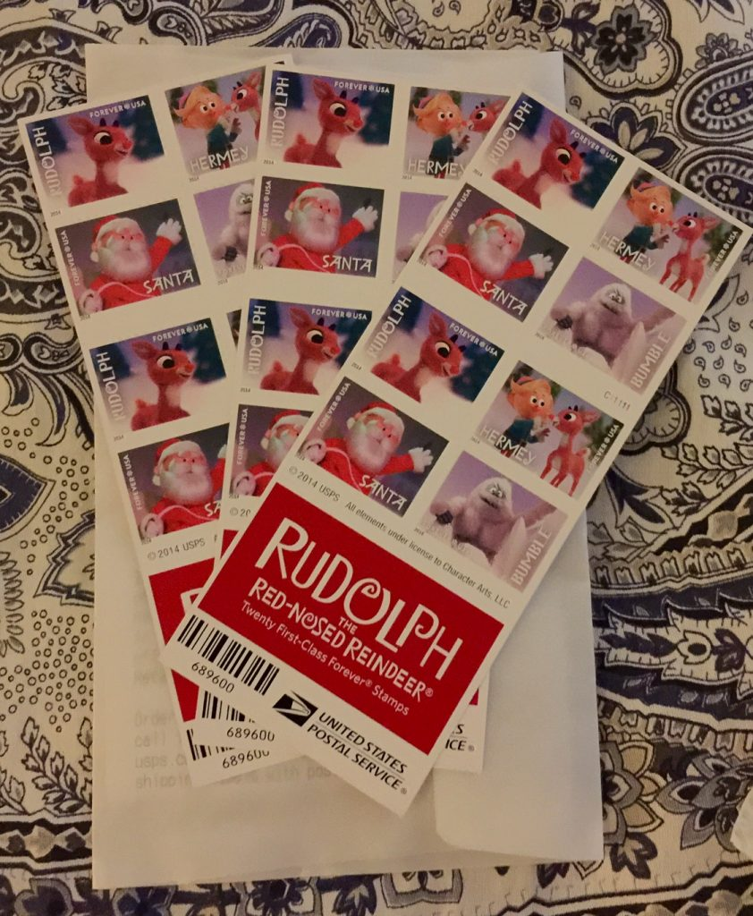 The Rudolf Stamps In Question