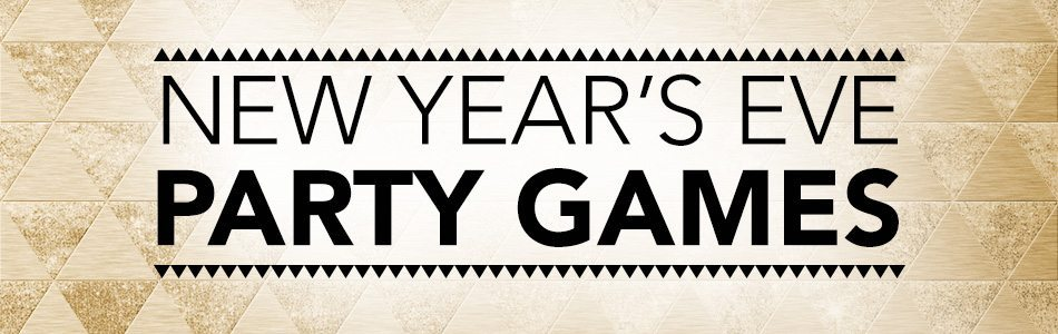 Tiny Print's New Year's Eve Party Games Logo
