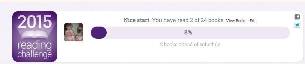 Goodreads 2015 Challenge
