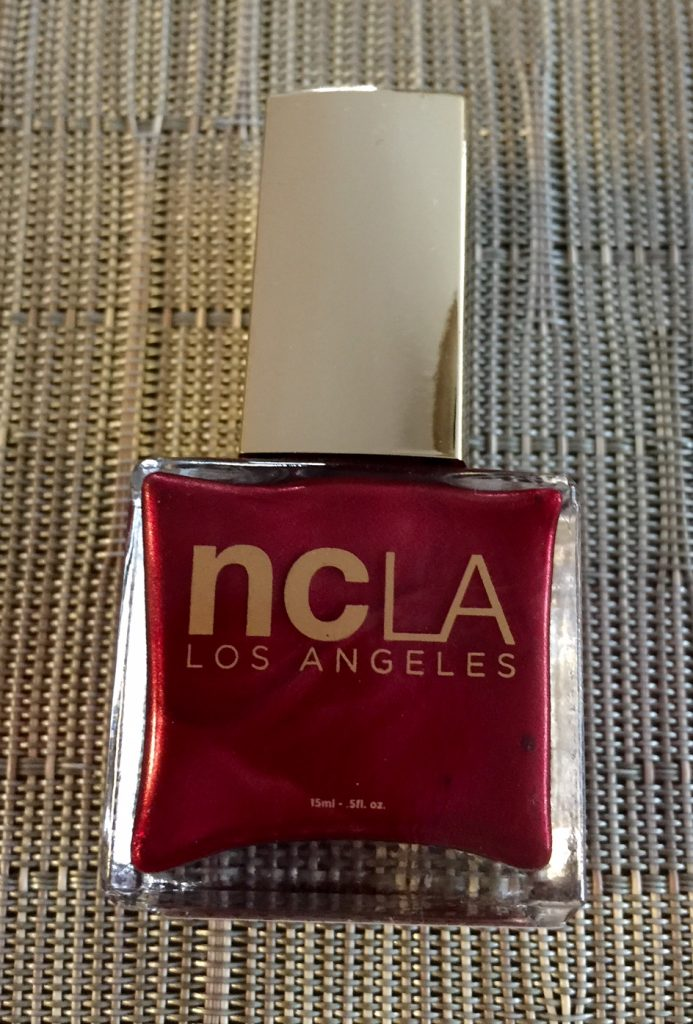 NCLA Nail Lacquer in Satin Sheets Velvet Ropes