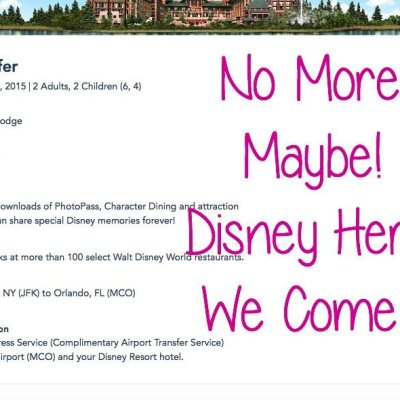 No More Maybe Disney