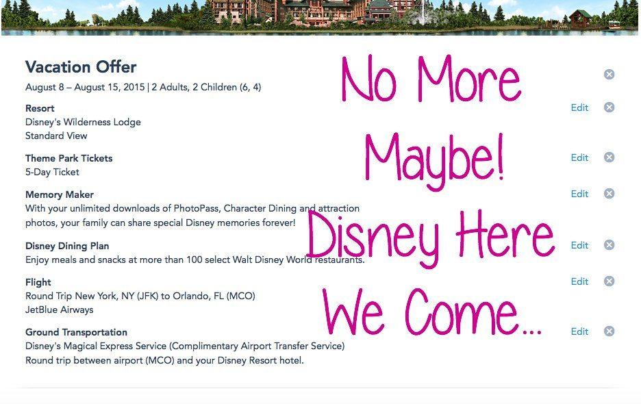 No More Maybe Disney