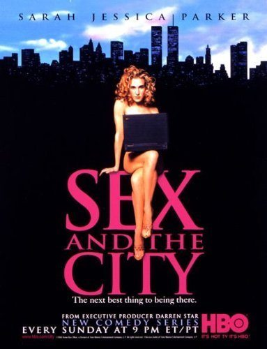 Sex and the City Poster - Complicated Times for These Ladies