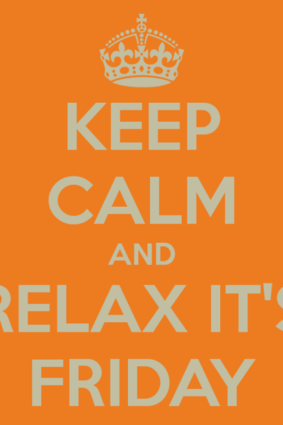 Keep Calm Its Friday