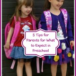 5 Tips for What to Expect for Preschool Parents
