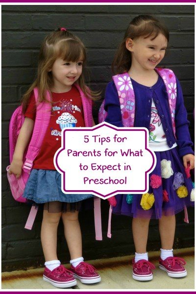 5 Tips for Parents for What to Expect in Preschool