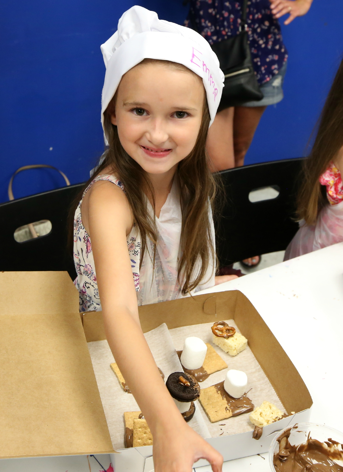 Emma Turning 6 and Making Chocolate at Her Party
