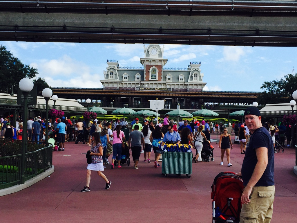 The Stroller Life for a Week at Disney