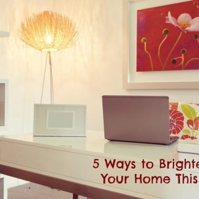 5 Ways to Brighten Up Your Home This Fall