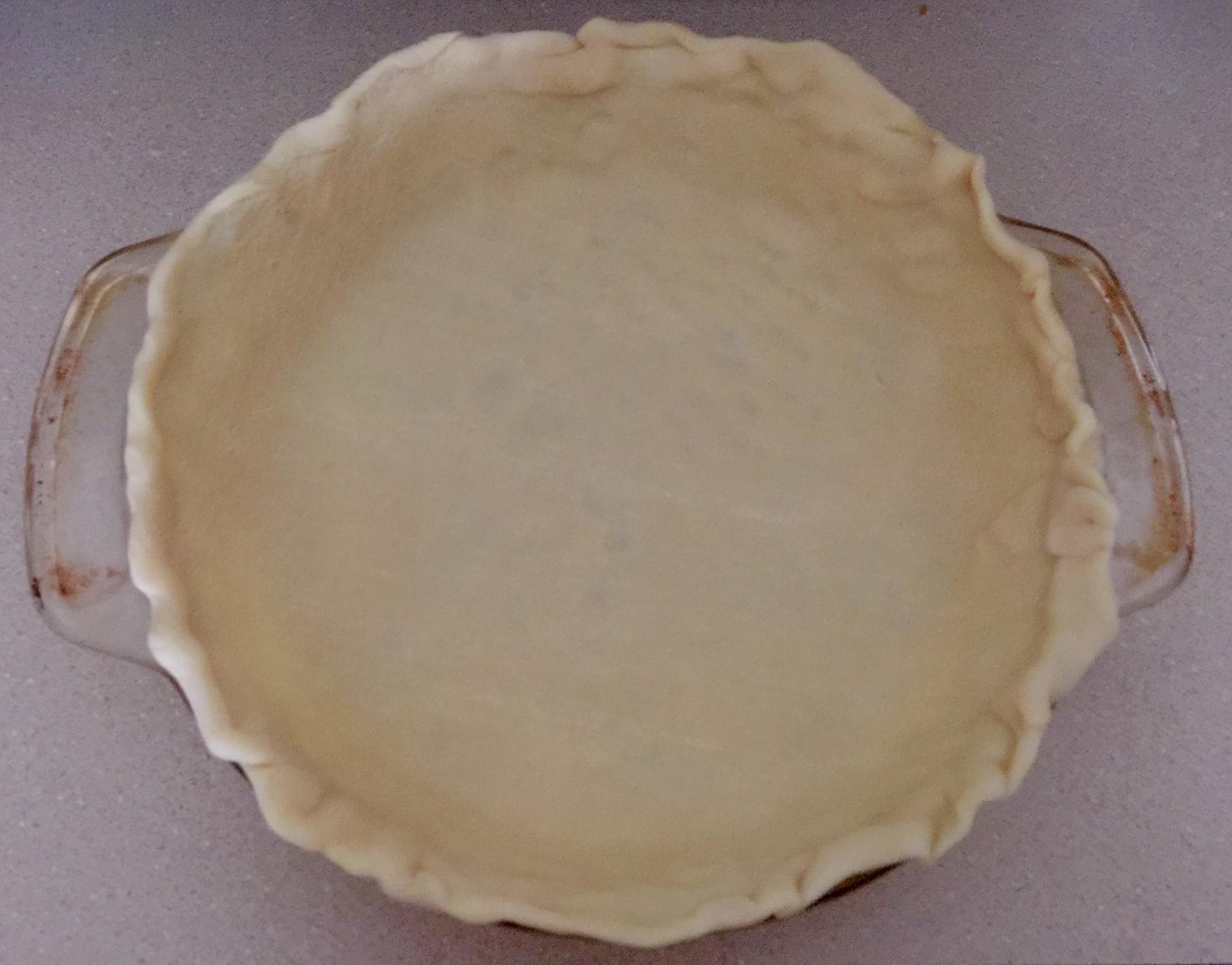 Empty Pie Crust