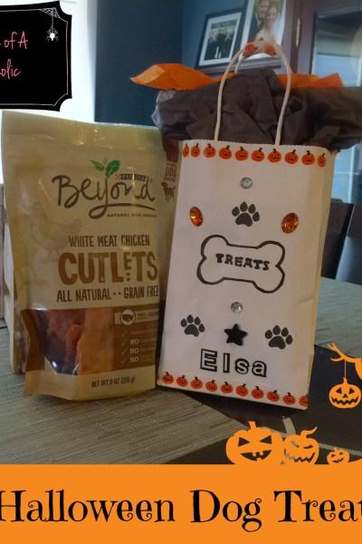 DIY-Halloween-Dog-Treat-Bag-Purina-#BeyondSnacks-#Ad