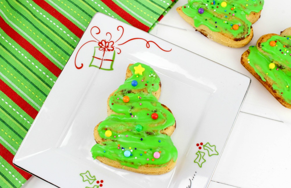 Christmas Tree Cinnamon Roll Recipe