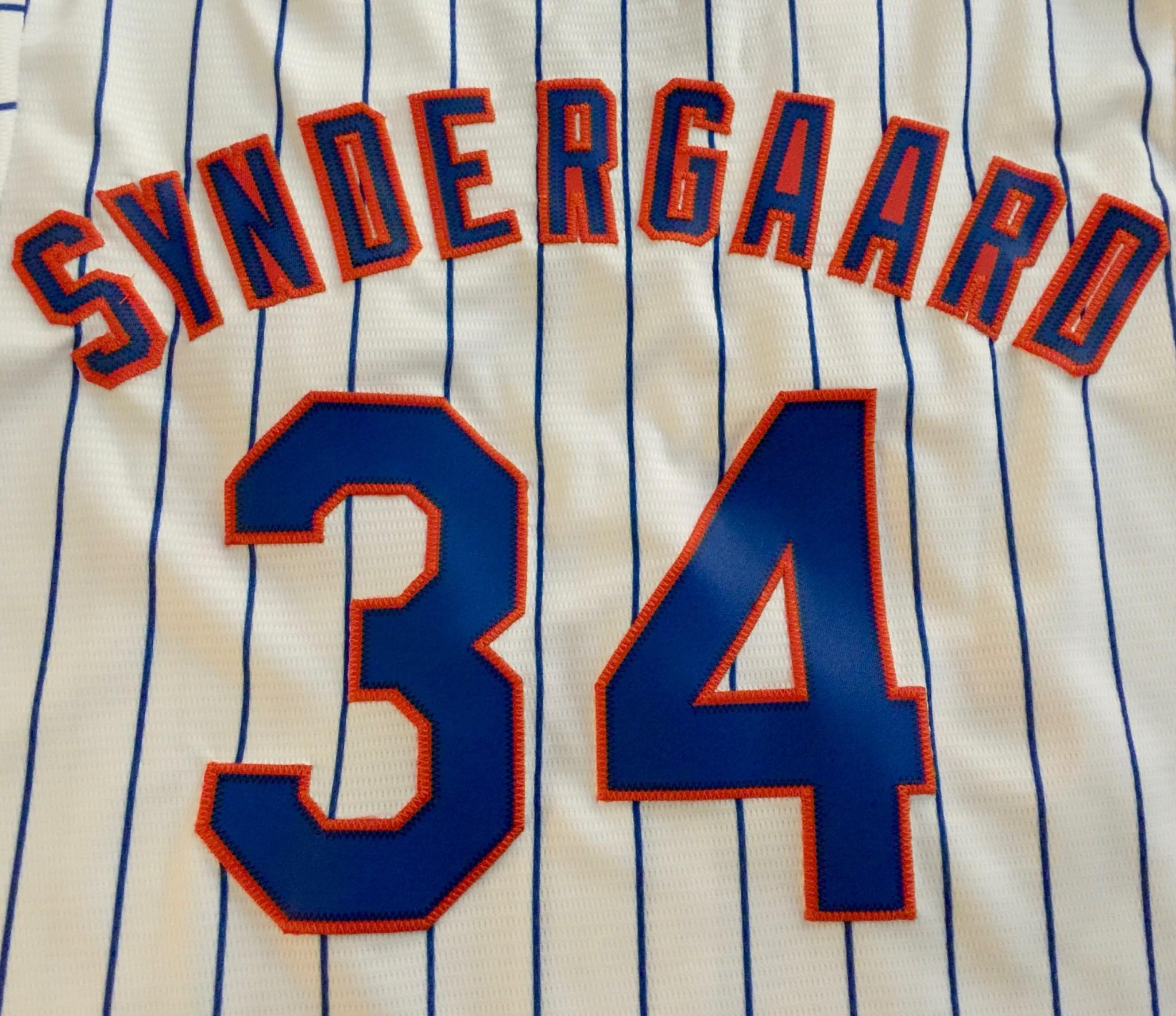 Mets Syndergaard Jersey