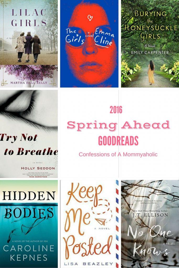 2016 Spring Goodreads