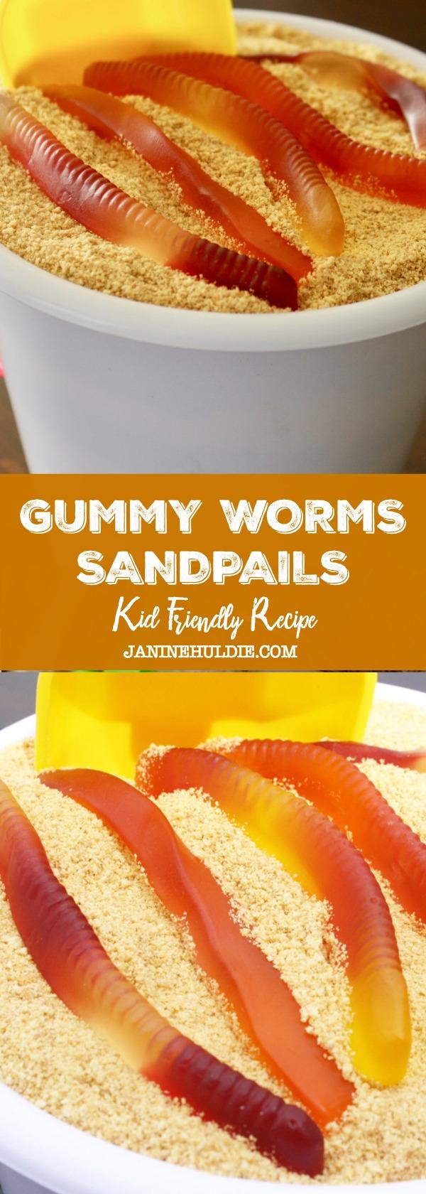 Gummy Worms Sandpails Recipe