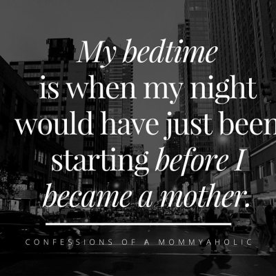 Bedtime and Night's Out for Moms Meme