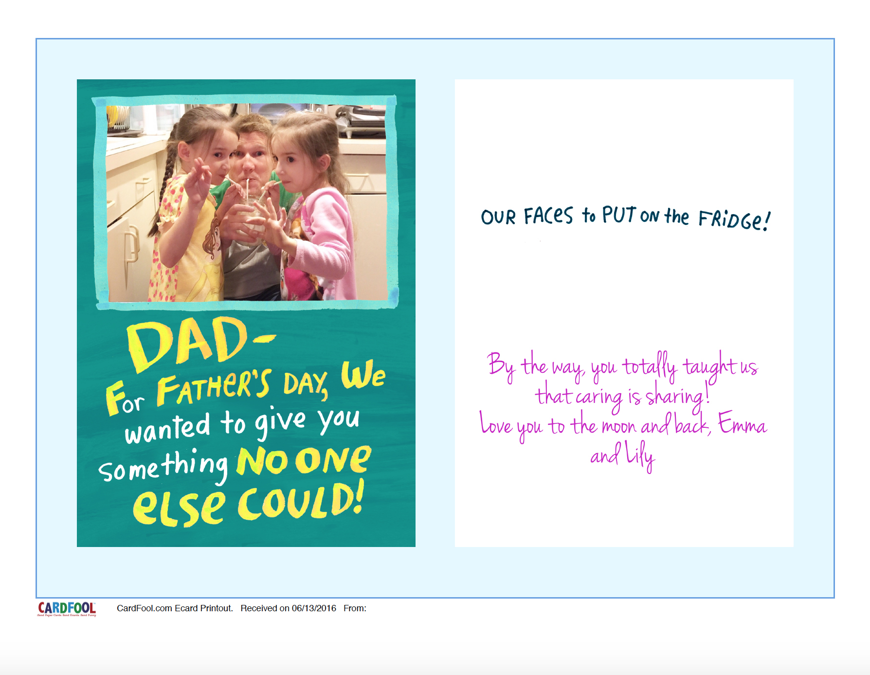 CardFool Father's Day Ecard