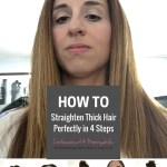 How to Straighten Thick Hair Perfectly in 4 Easy Steps with Nexxus New York Salon Care