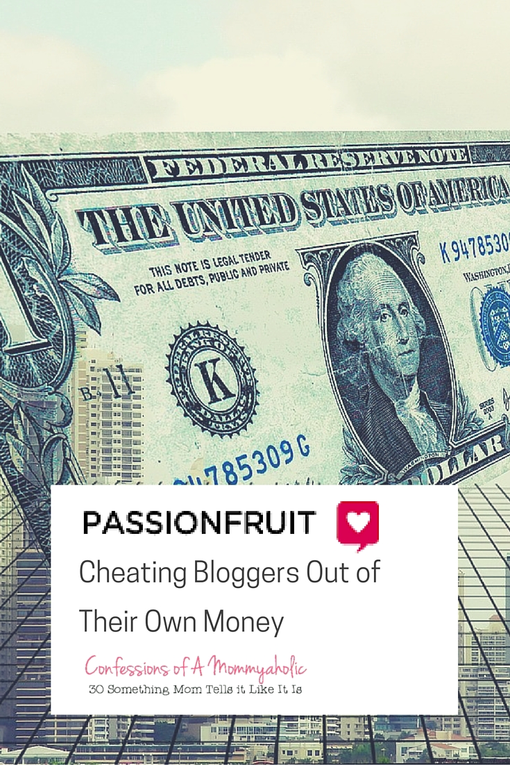 Passionfruit Ads Cheating Bloggers Out of Their Own Money