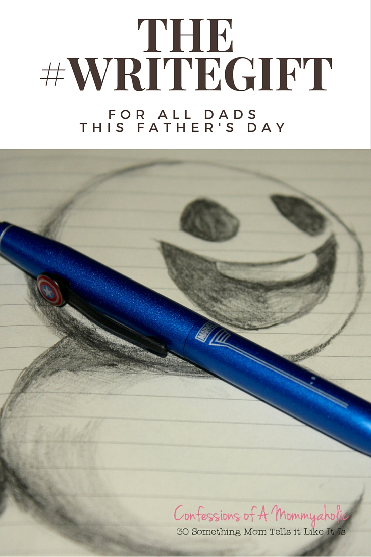 The #Writegift for Dads for Father's Day