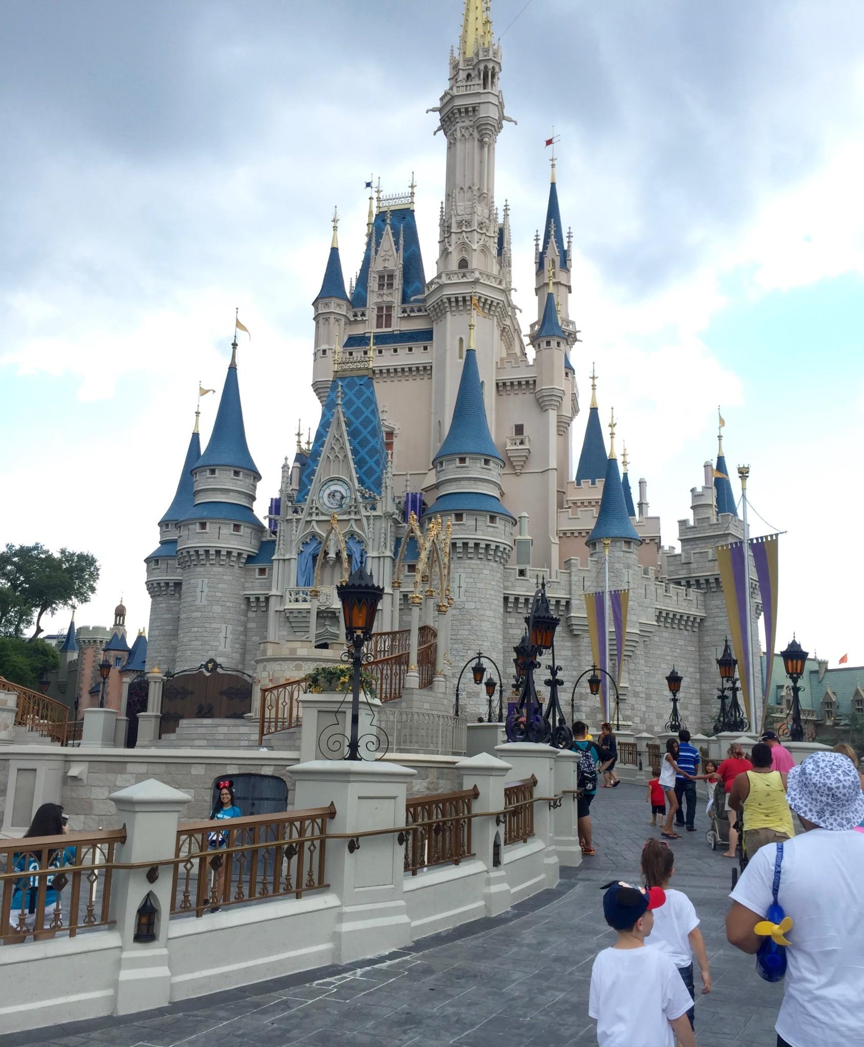Cinderella's Castle at the Magic Kingdom