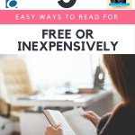 5 Easy Ways to Read for Free or Inexpensively