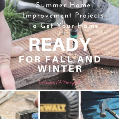 5 Summer Improvement Projects to Get Your Home Ready for Fall and Winter