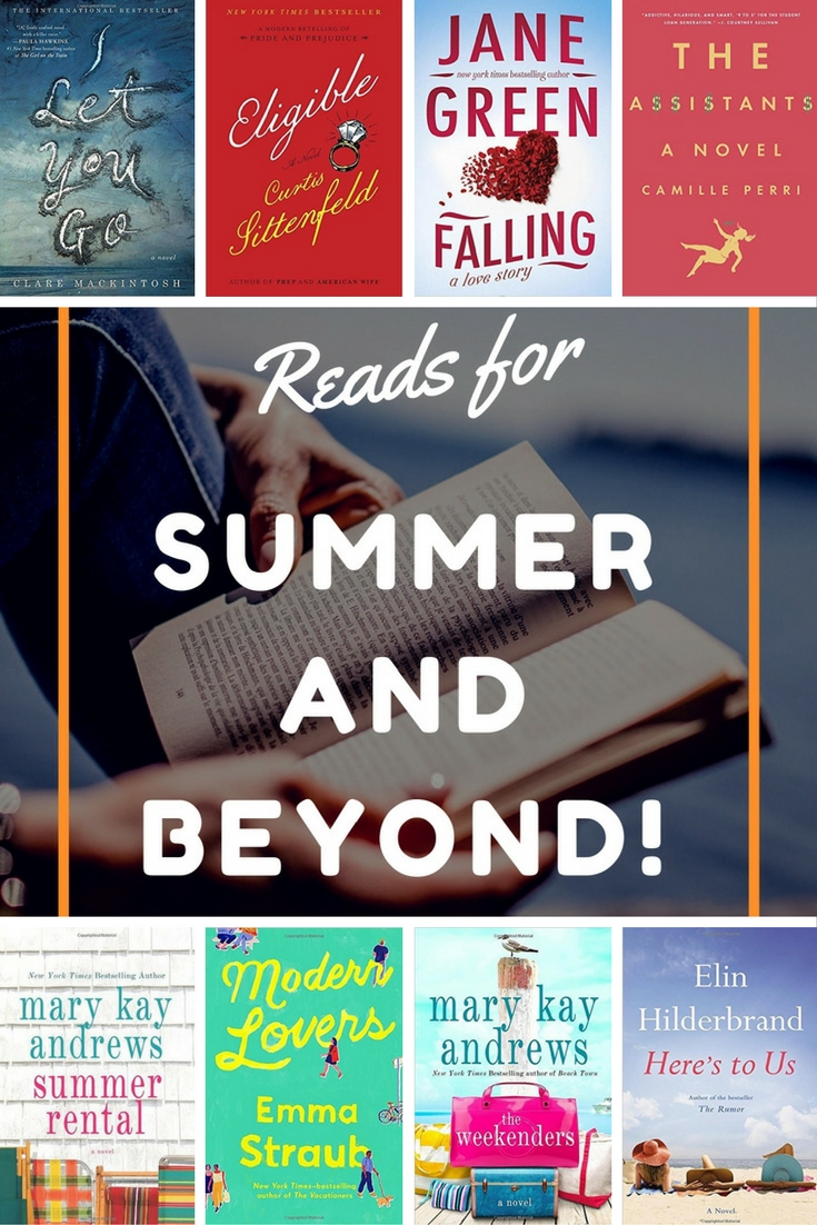 8 More Beach Reads with Books
