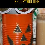 DIY Jack O' Lantern Cans K-Cup® Holder w/Printable