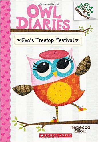 Owl Diaries Book 1 Cover