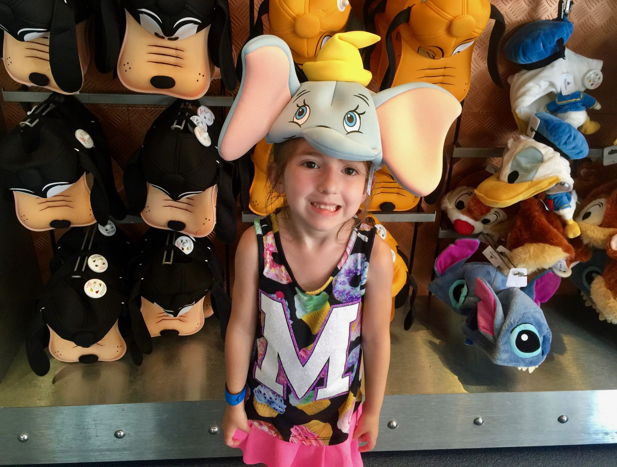 Modeling Dumbo Ears at Disney World