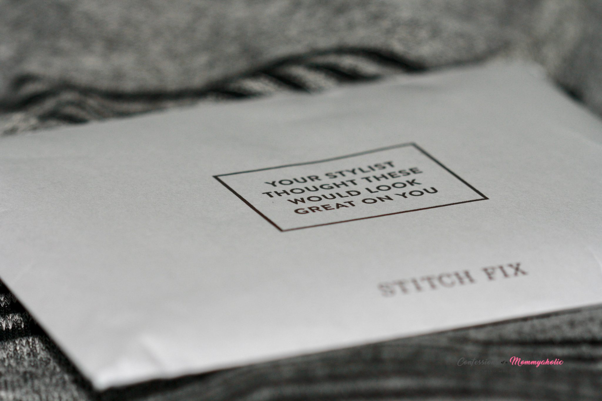 Stitch Fix Envelope with Fix Info