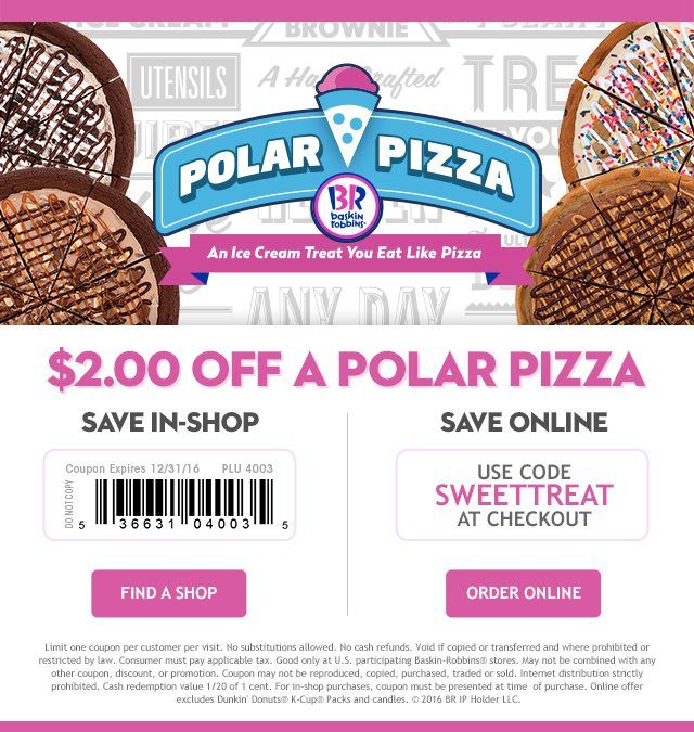 Polar Pizza Dual Coupon_December 2016