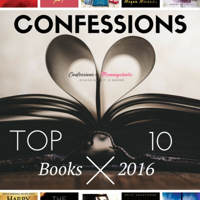 Confessions Top 10 Books of 2016