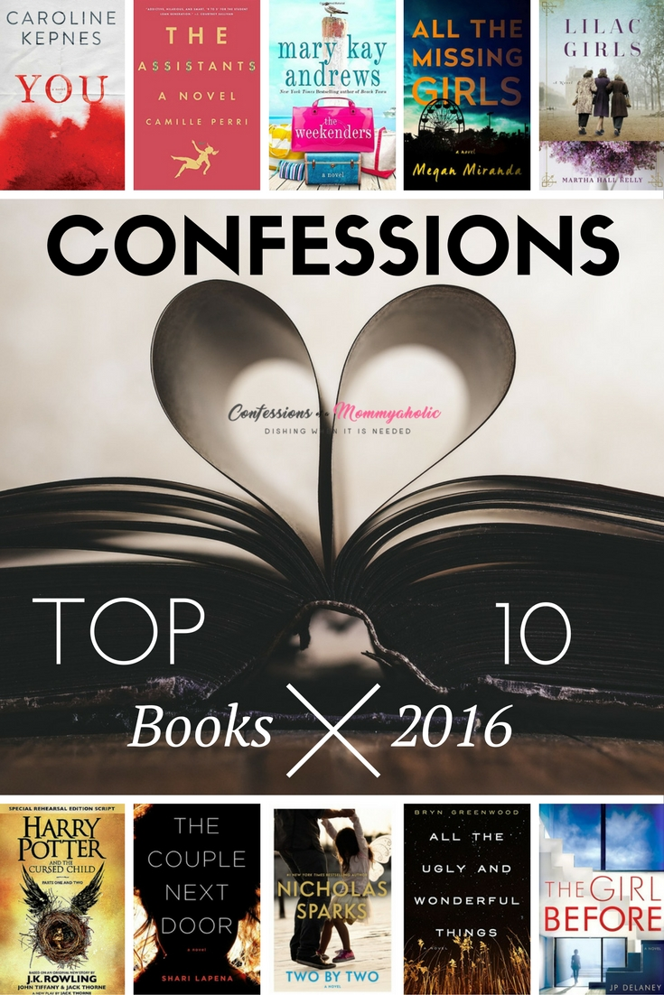 Top 10 Books 2016