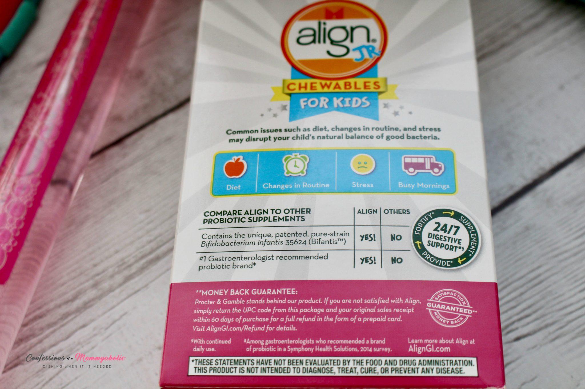 Align Jr Closeup Back
