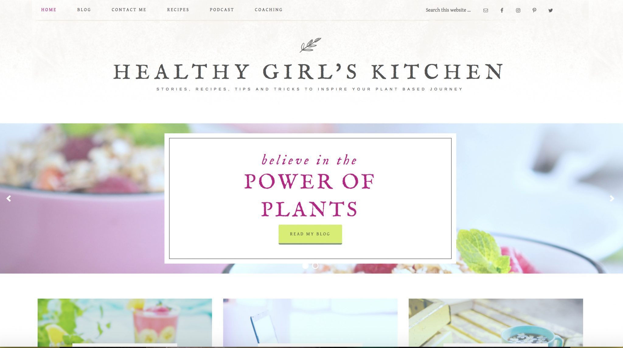 Healthy Girls Kitchen
