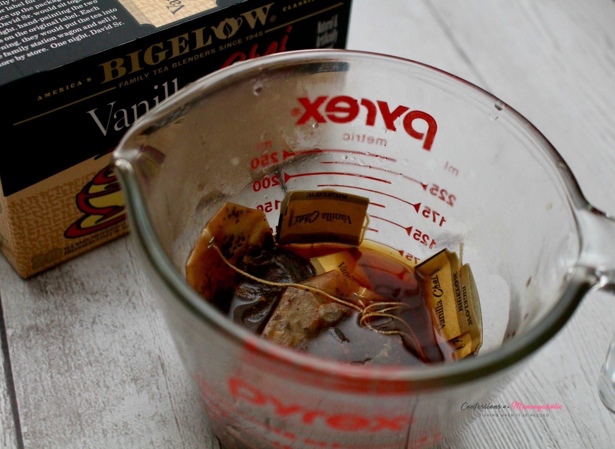 Steeped Vanilla Chai Tea