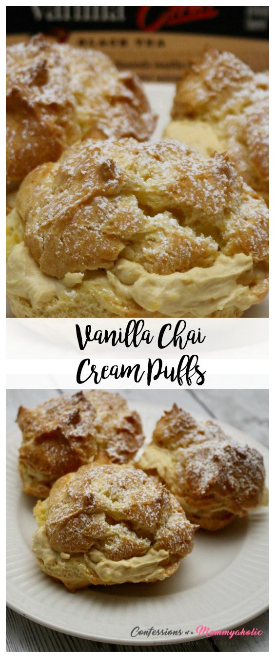 Vanilla Chai Cream Puffs Hero Shot