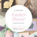 10 Awesome Easter Decor Finds on Etsy