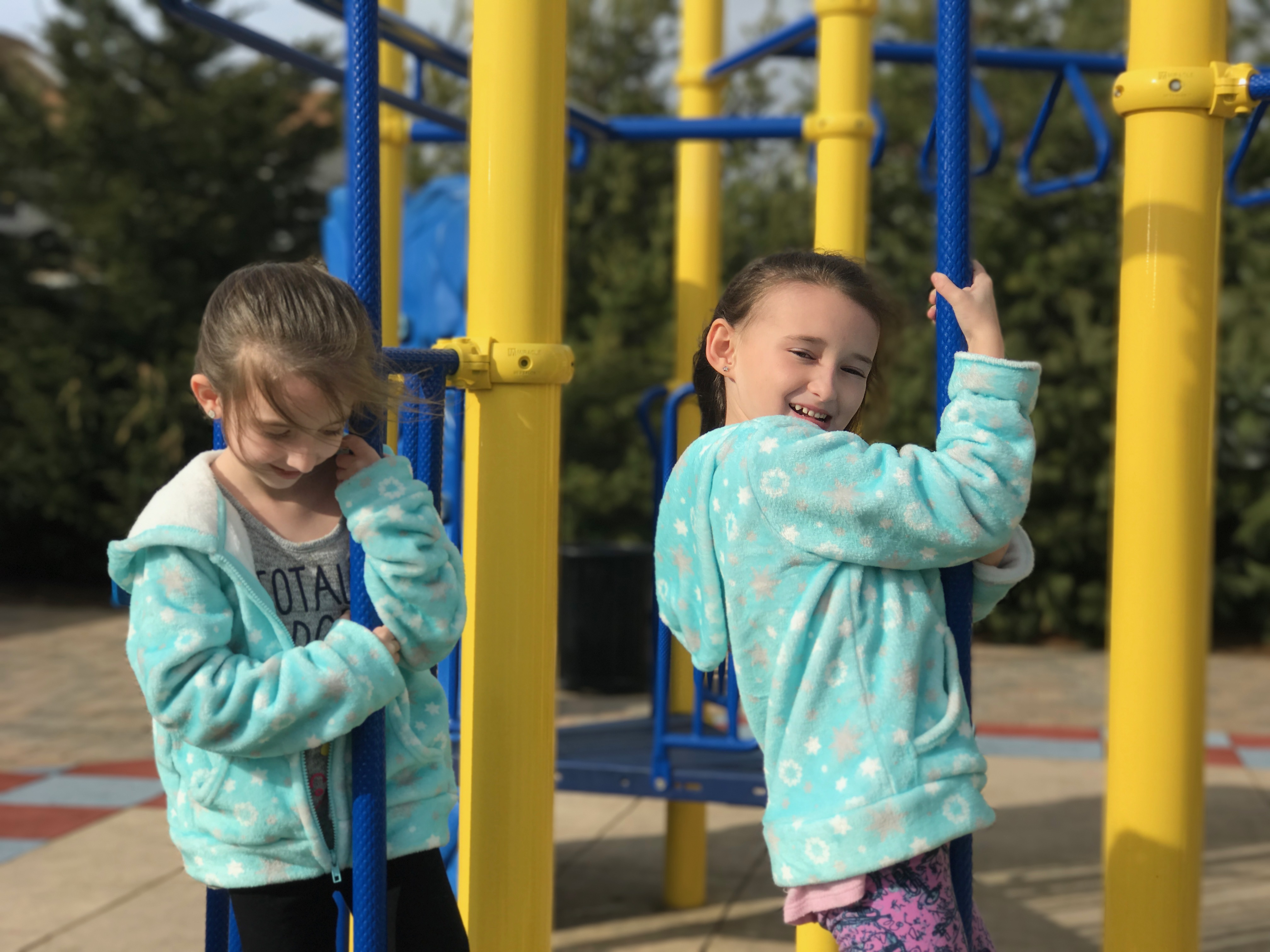 70 Degrees in February at the Playground